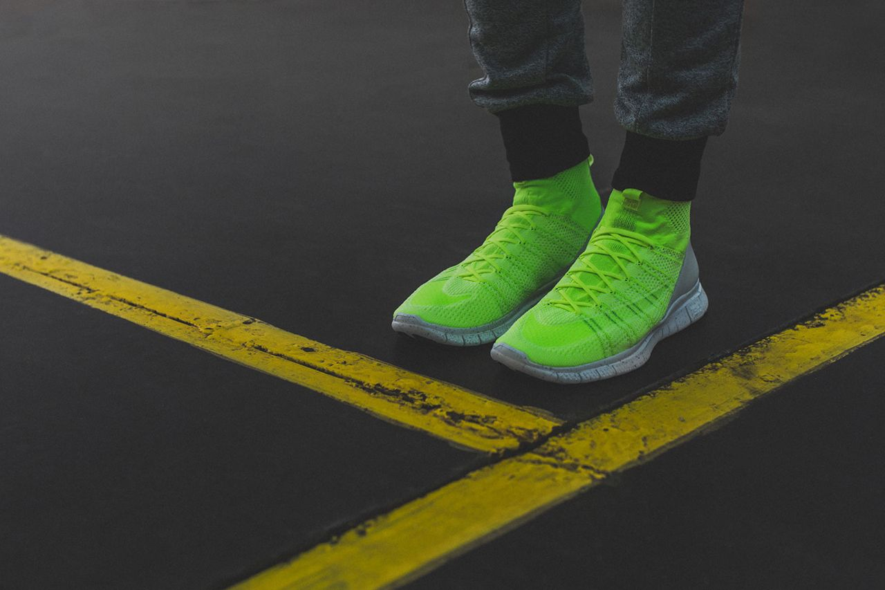 "f98f051afcfc Image of A Closer Look at the Nike Free Mercurial Superfly HTM ""Volt"""