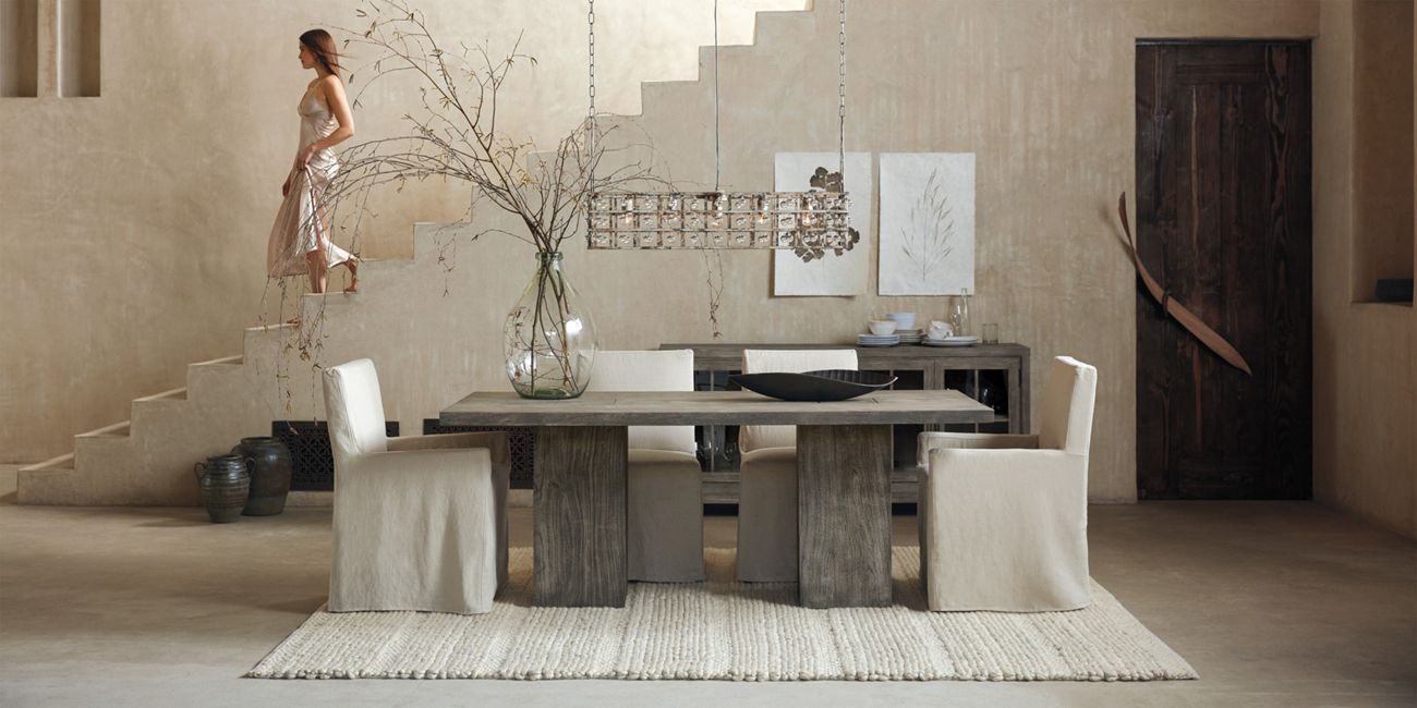 Tao Dining Table Arhaus Furniture Interior Design Dining Room Side Chairs Dining Dining Table