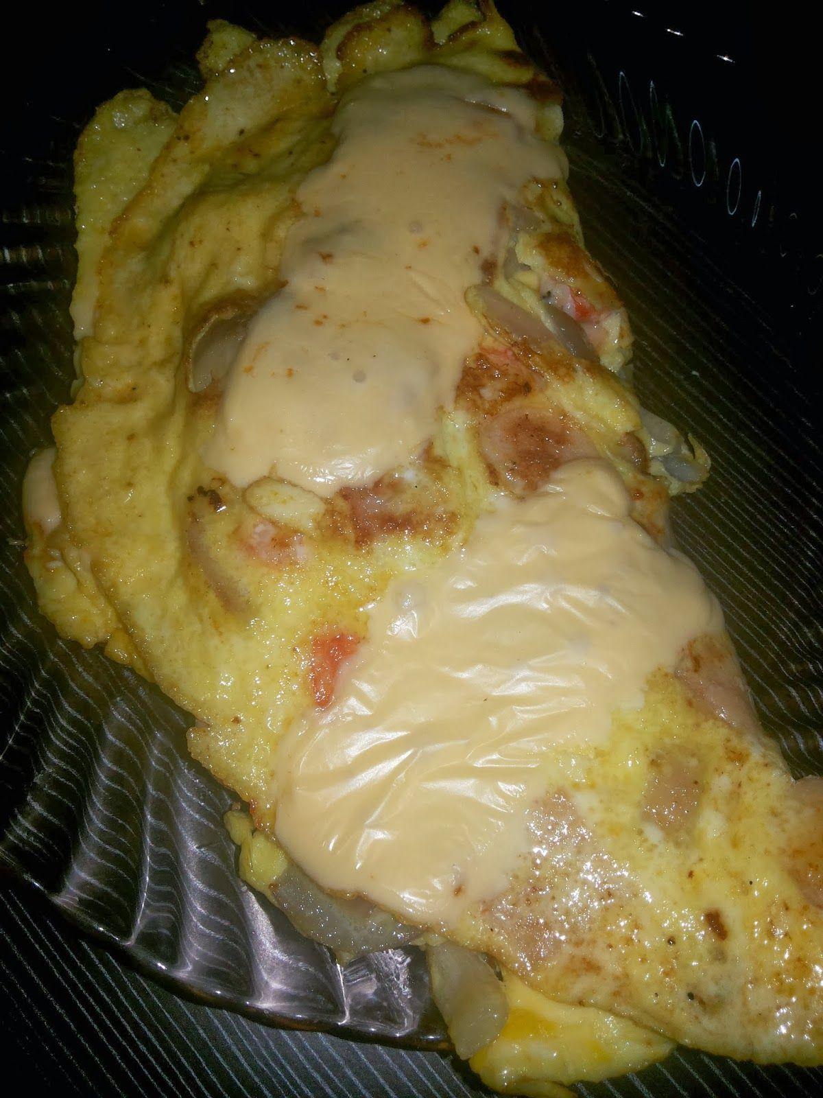 Corat Coret Nusha Resepi Mudah Sihat Telur Bungkus Cheese Food Diet Recipes Healthy Eating