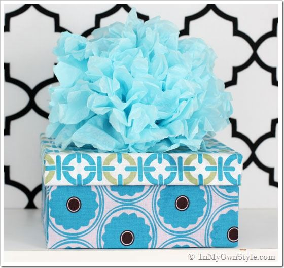 Decorative Fabric Boxes One Yard Décor Fabric Covered Boxes  In My Own Style  Cajas