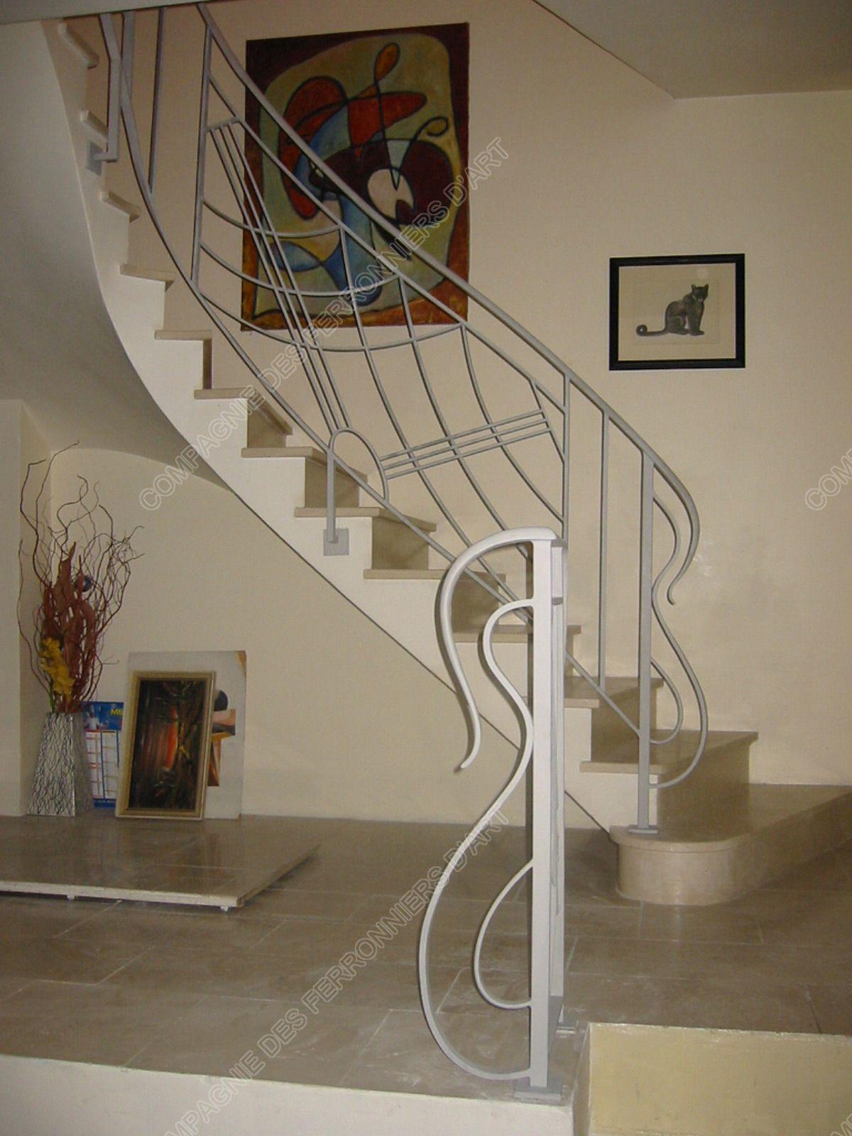 rampes design moderne maison pierre rampe d 39 escalier. Black Bedroom Furniture Sets. Home Design Ideas