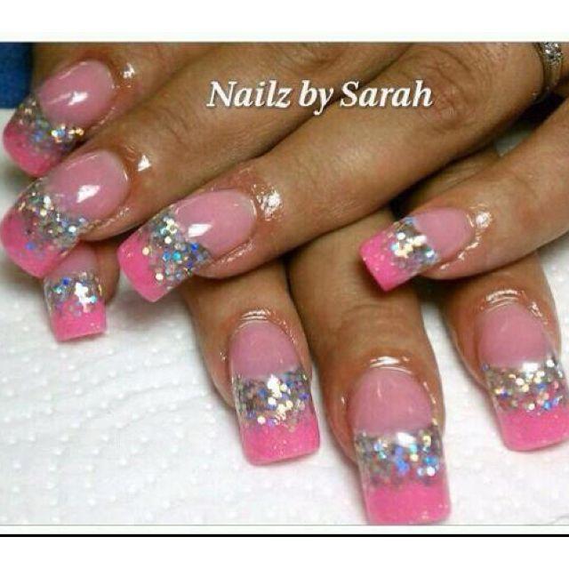 Acrylic nails   Acrylic Nail Art   Pinterest   Acrylics, Curved ...
