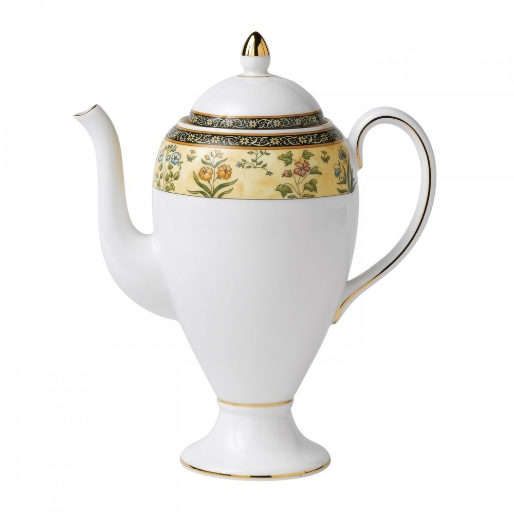 Wedgwood India Coffee Pot New With Tag