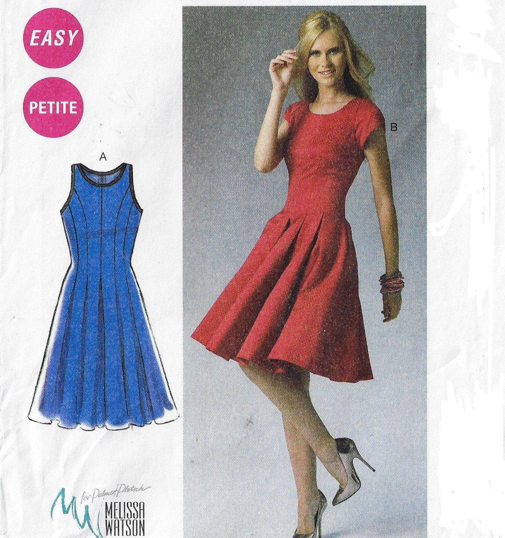 Mccalls sewing pattern m6834 melissa watson womens fit and