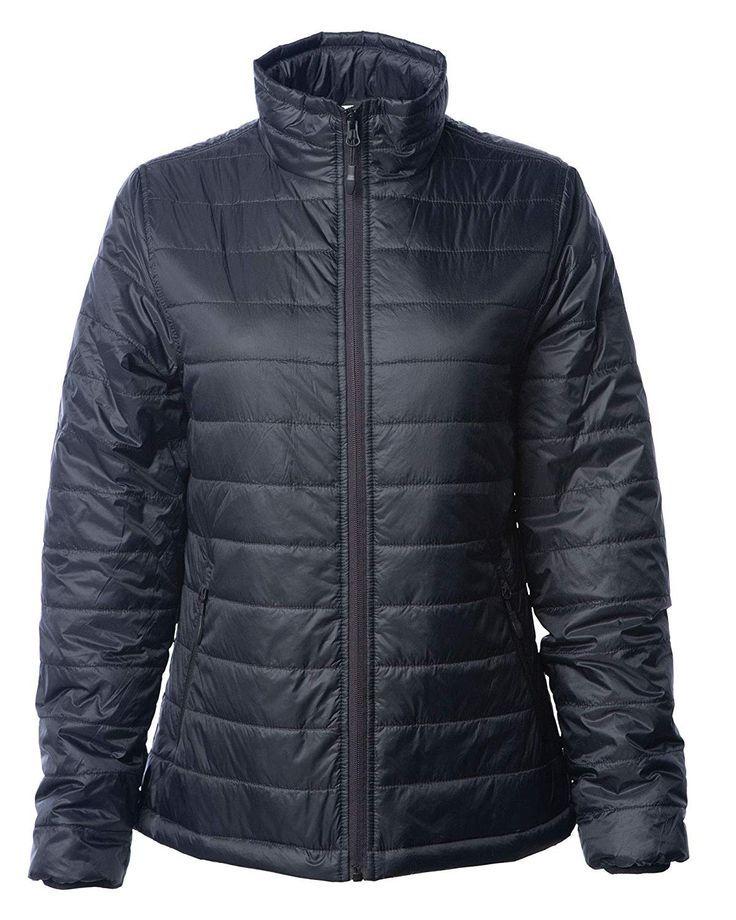 Wasserabweisende, packbare, leichte Puffer Jacket Shell-Reißverschlusstaschen für Damen - CO18QL6XHO...