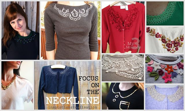 inspiration and realisation: Do-Inspire-Yourself #15 // focus on the neckline - // #tutorial
