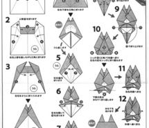 How to create origami totoro | Décoration kawaii, Origami facile ... | 185x215