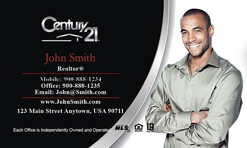 Century 21 Business Card Realtor Ideas Businesscards Realestate