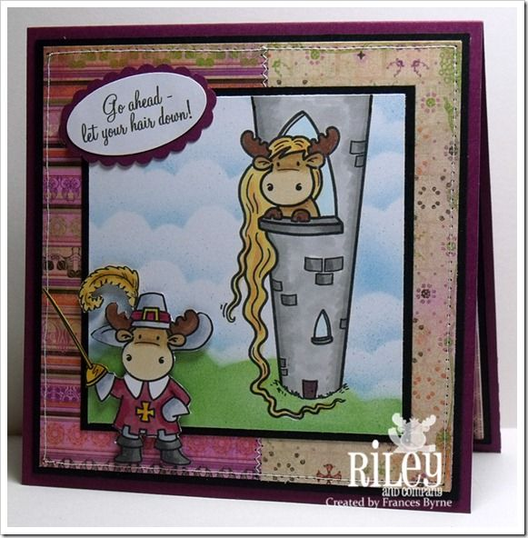 New Riley Release - Rapunzel Sophie and The Three Moosekateers