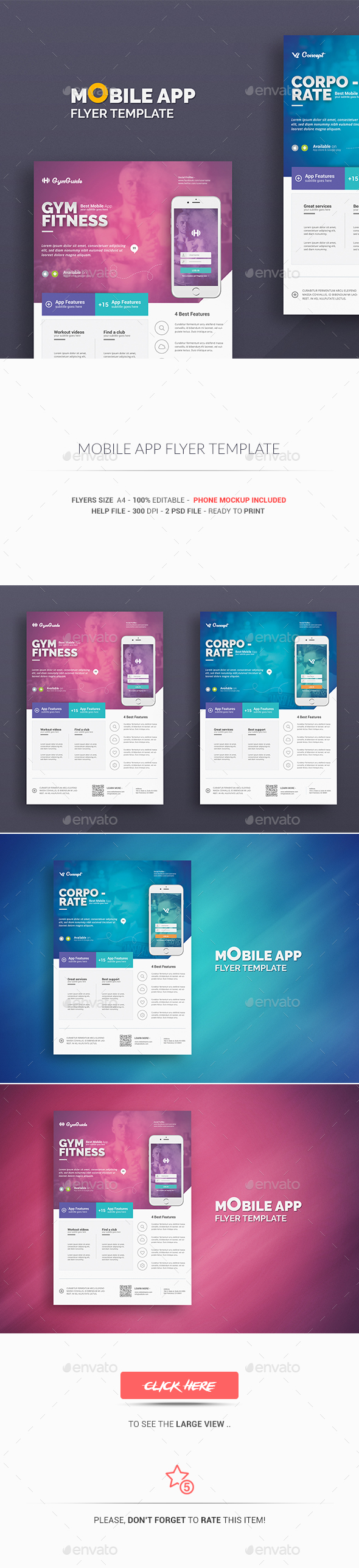 download flyers templates