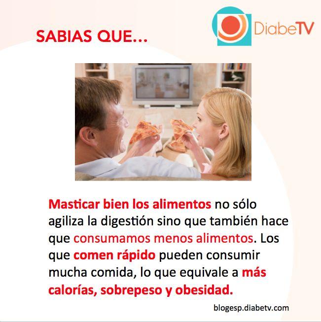 Diabetes y masticar