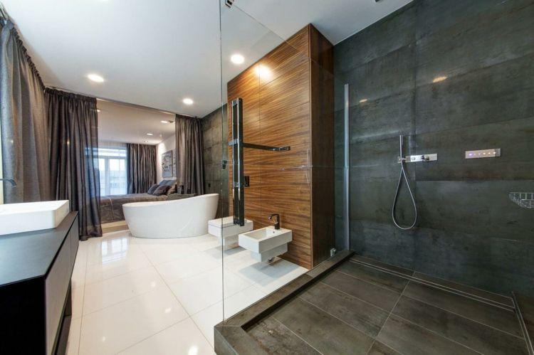 Wohnung einrichten in Grau - Offene Dusche Home - Deko, Styles - Wohnung Einrichten Wie