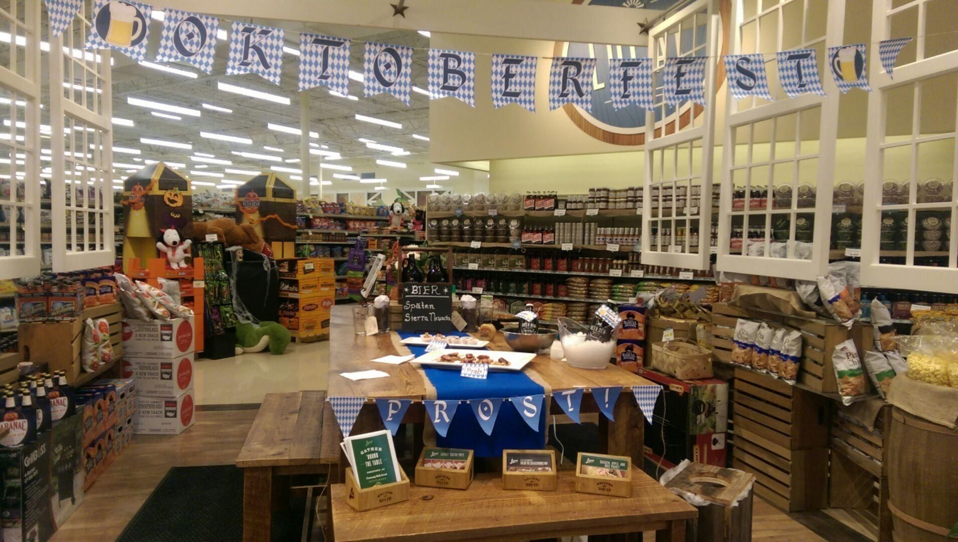 Beer Den takeover for Oktoberfest! Community table
