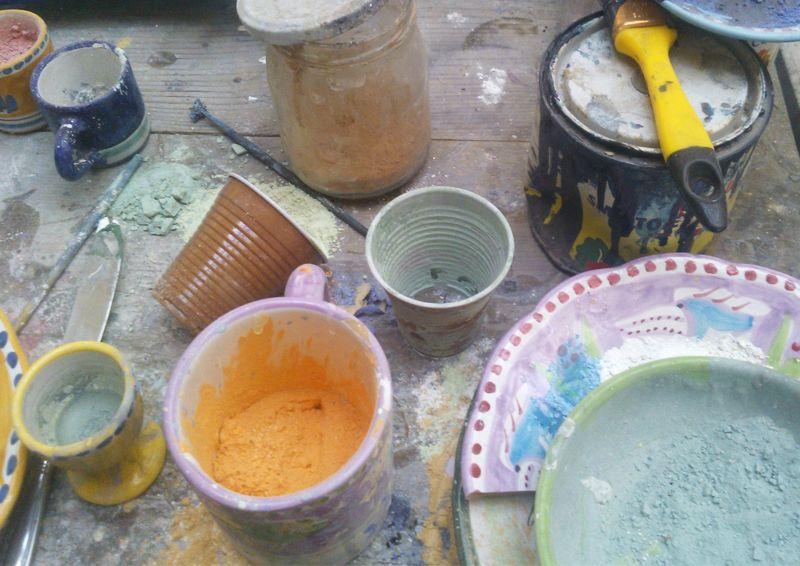 una passeggiata per la fabbrica della Ceramica Artistica Solimene