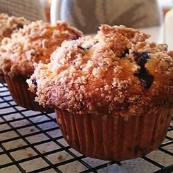 To Die For Blueberry Muffins - We have made these many times and they really are YUM!  SERIOUSLY THE BEST!!!