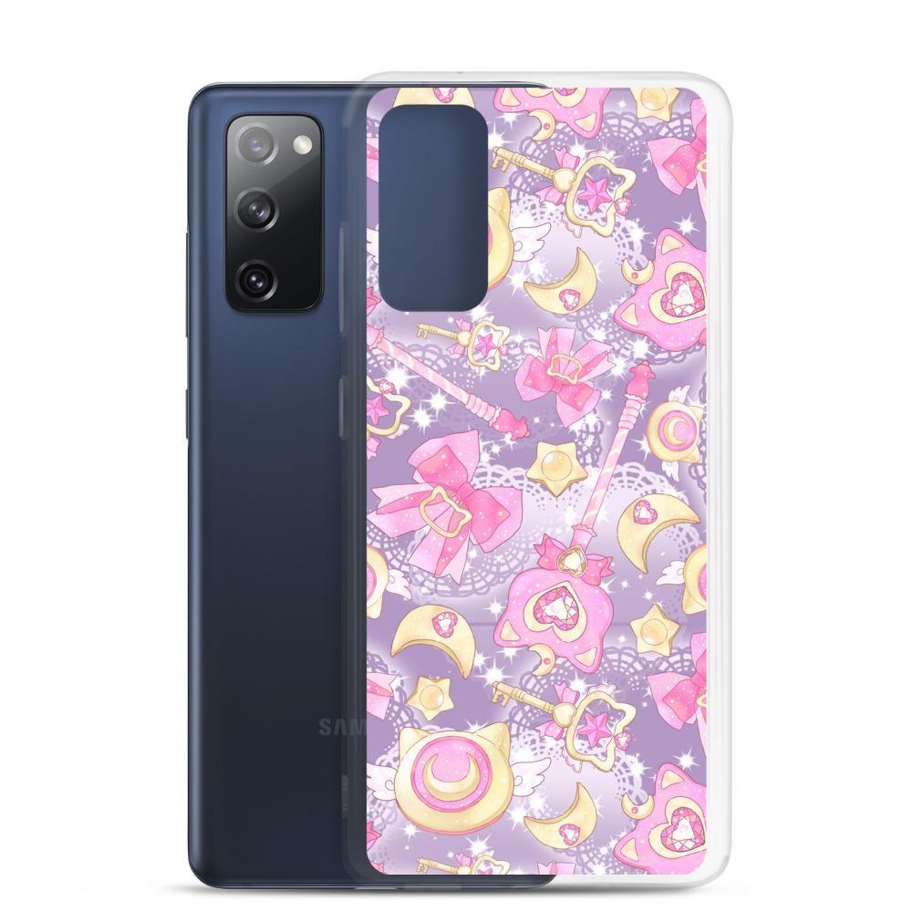 Magical Girl Samsung Case (Purple) - Samsung Galaxy S20 FE