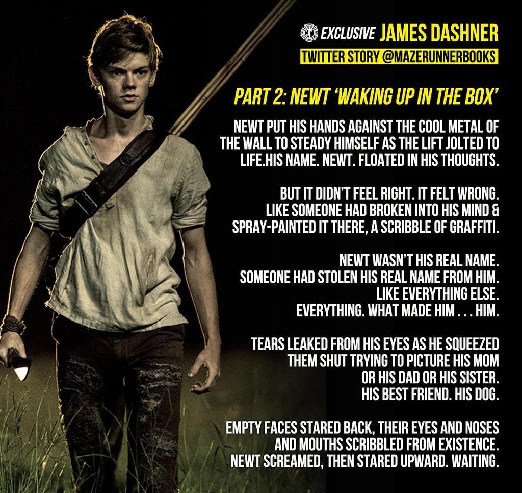 a summary of the maze runner by james dashner James dashner, writer: the maze runner james dashner is a writer and actor, known for the maze runner (2014), maze runner: the death cure (2018) and maze runner: the scorch trials (2015.