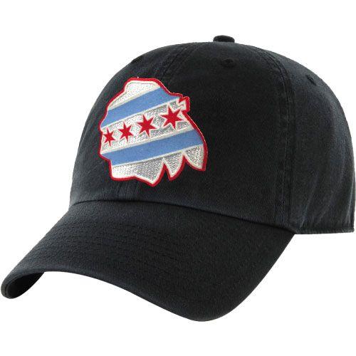 48df56adb3e City of Chicago Hawks Flag Adjustable Cap by ThirtyFive55