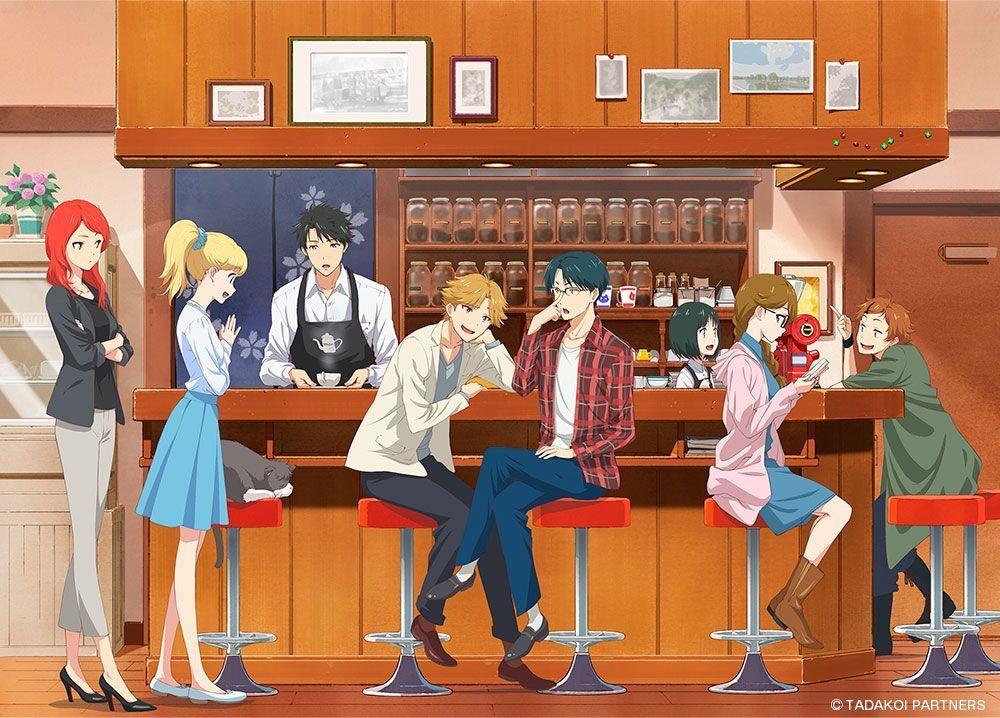 Tadakun wa Koi wo Shinai Introduces 8 Characters and Cat