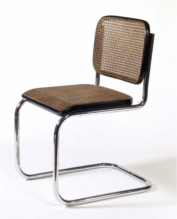 Marcel Breuer, Cesca Chair 1928; Manufacturer: Gebrüder Thonet, Vienna,  Austria. Bauhaus MöbelStuhlEsszimmerEsszimmerstühleSeitenstühleSpeiseräumeMarcel  ...