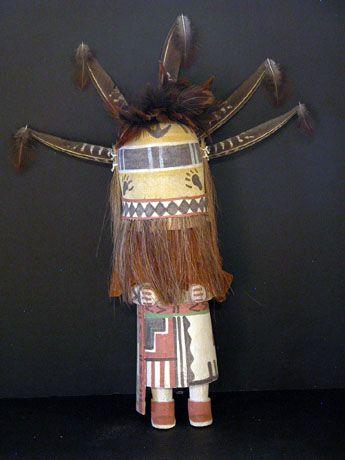 """Philbert Honanie Warrior Kachina 17"""""""
