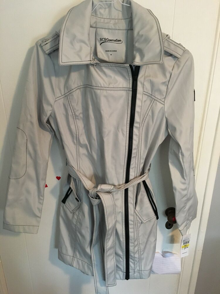 ec1ce1f3816 BCBG Womens Rain Coat Brand New With Tags #fashion #clothing #shoes ...