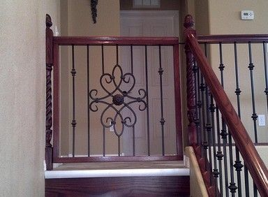 Tremendous Wood Baby Gate Plans And Wood Baby Gate Top Of Stairs