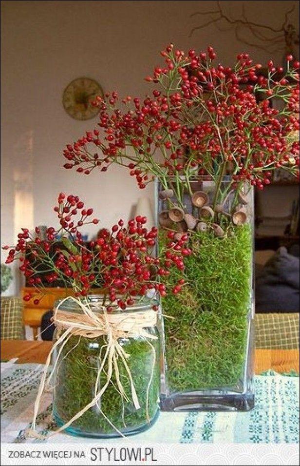 Die schönsten Herbstdekorationen mit allem, was die Natur jetzt #tischdekorationweihnachten