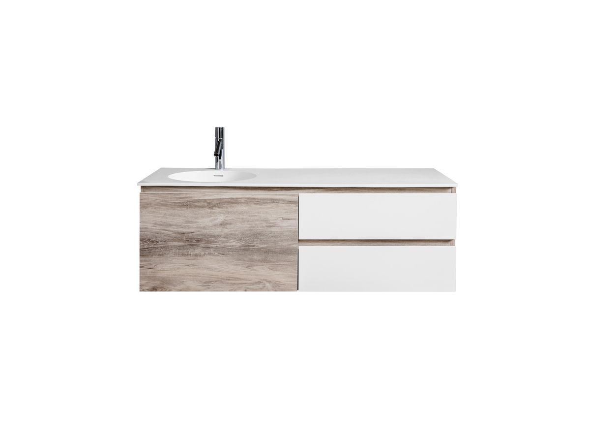 CIBO Habitat 1200 Vanity Unit 1 Door 2 Drawer | Ensuite | Pinterest ...