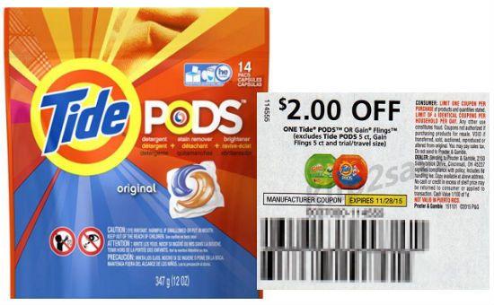 Cuponeandote El Nuevo Reto En Ahorros Tide Pods Print Coupons Laundry Detergent