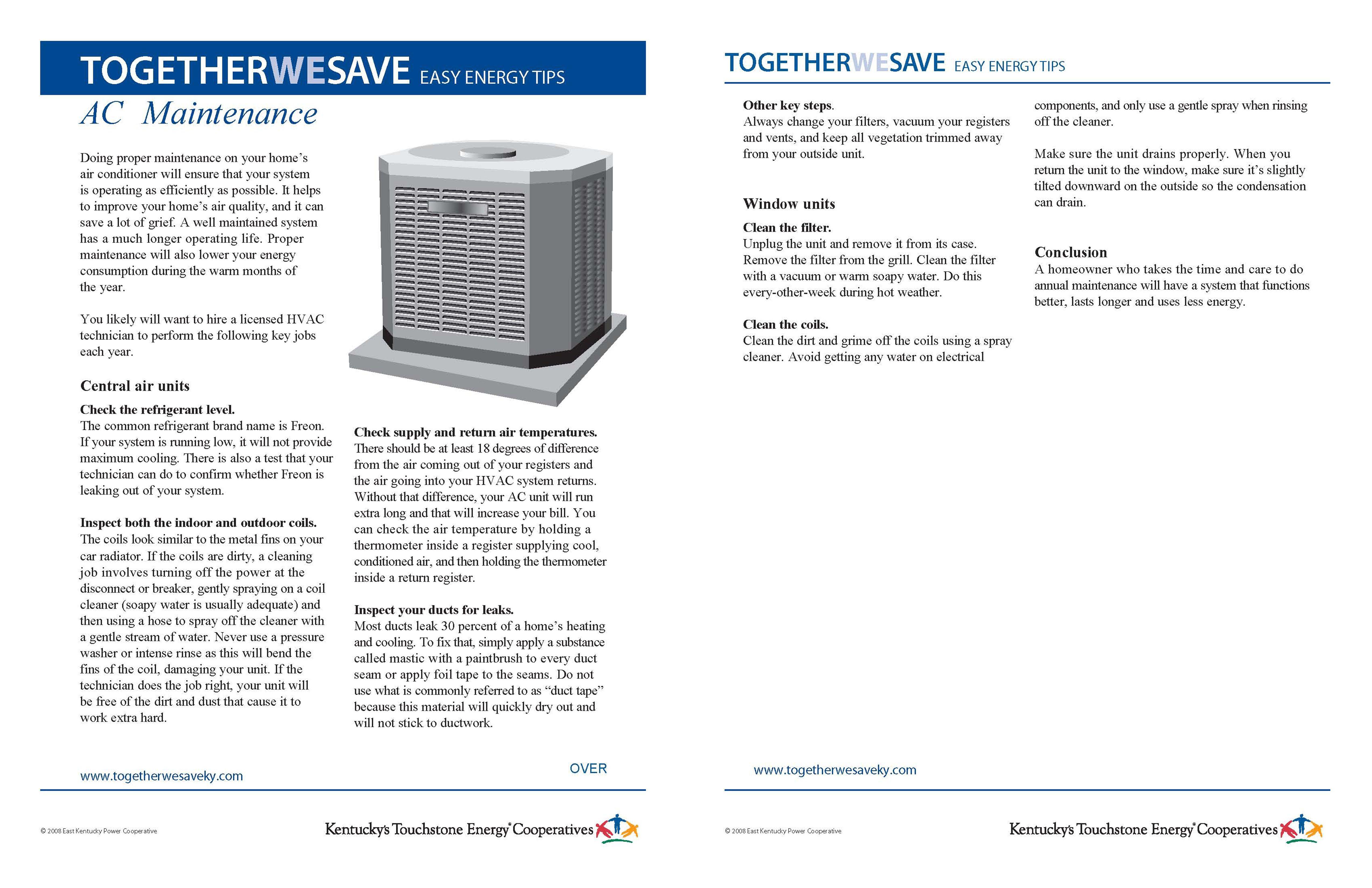 Air Conditioner Maintenance Air conditioner maintenance
