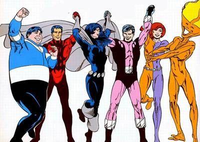 Legion of Substitute Heroes (Team) - Comic Vine