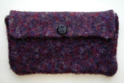 Easy Felted Clutch Designed By Barbara Breiter Knitting