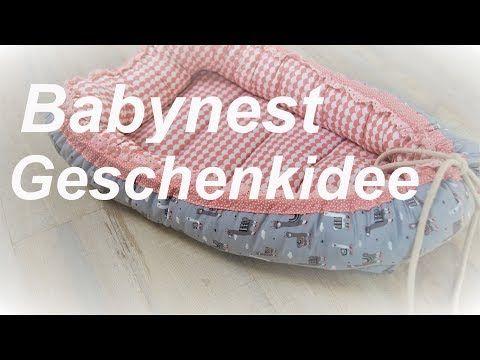 Photo of Babynest nähen – Geschenkidee zur Geburt – Tutorial – DIY