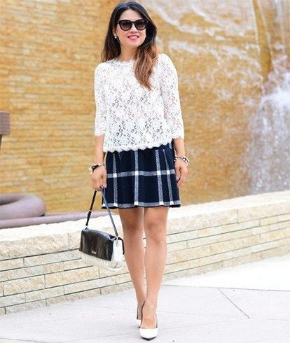 dd778076b5 Awesome Ways To Wear Plaid Skirt Outfit | Fall closet | Skirt ...