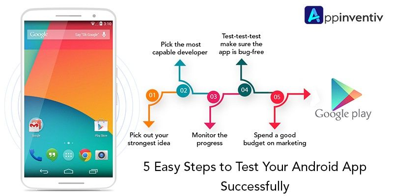 5 Easy Steps to Test Your Android App Successfully