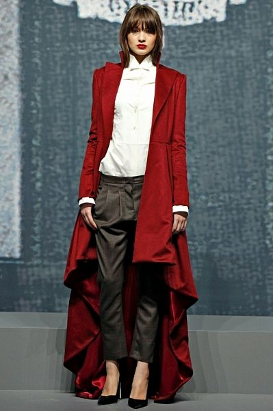 The red coat is coming...