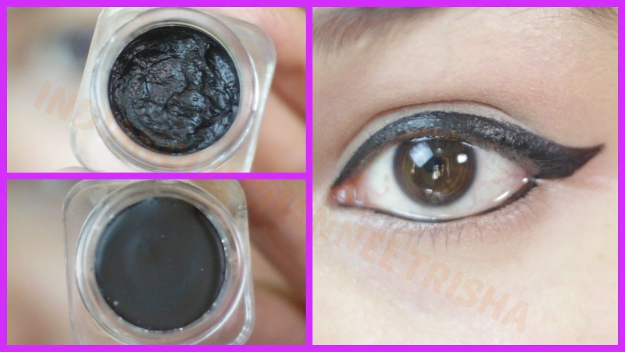 How to do makeup at home youtubers use simple eyeliner