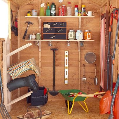 garden shed interior - Google Search | Greenhouse / Potting Shed ...