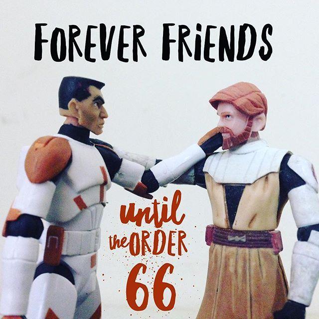 Por Siempre Amigos  #blackseries #stormtrooper #jedi #sith  #lego #starwarsfan #yoda #art #r2d2 #hansolo #bobafett #lukeskywalker #geek #forcefriday #cosplay #darkside #chewbacca #starwarday #lightsaber #toys #theforce #instagood #kyloren #thelastjedi #c3po #clonetrooper #Clone #rogueone