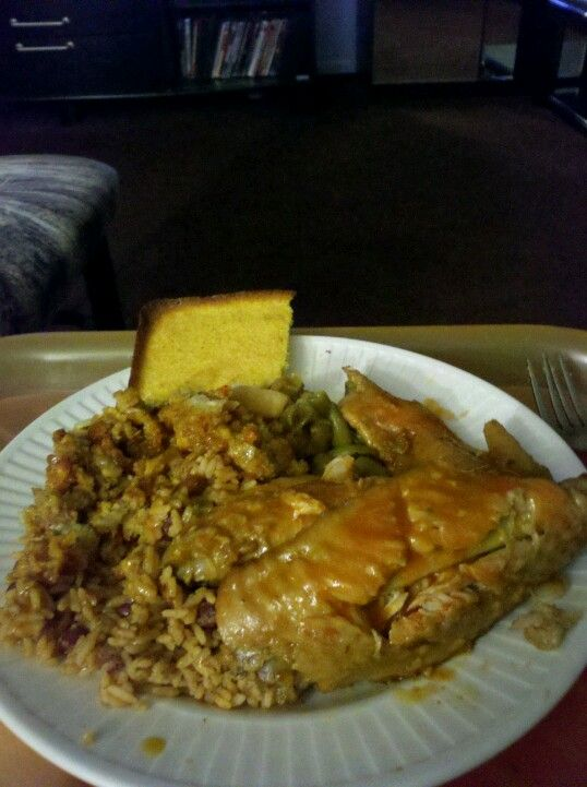 My turkey wings with rice and cornbread theresas peterson me dinner ideas my turkey wings with rice and cornbread soul food recipeswing forumfinder Image collections