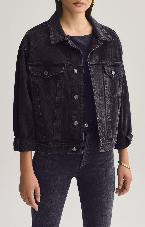 Charli Jacket In Double Exposure Xs Double Exposure In 2021 Oversized Denim Jacket Denim Jacket Women Denim Jacket [ 1309 x 835 Pixel ]