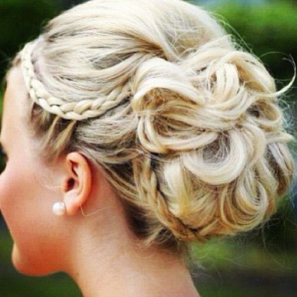 wedding hair idea hair makeup nails pinterest. Black Bedroom Furniture Sets. Home Design Ideas