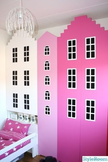 ikea billy bookcase hack maybe the girls room billy regal ikea hacks pinterest. Black Bedroom Furniture Sets. Home Design Ideas