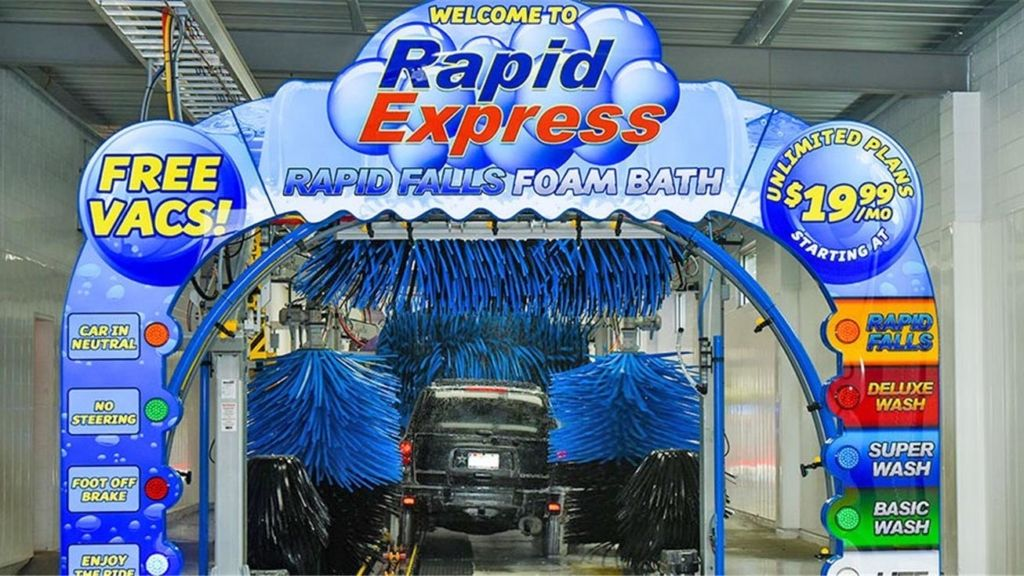Rapid Xpress Car Wash (With images) Car wash, Flooring