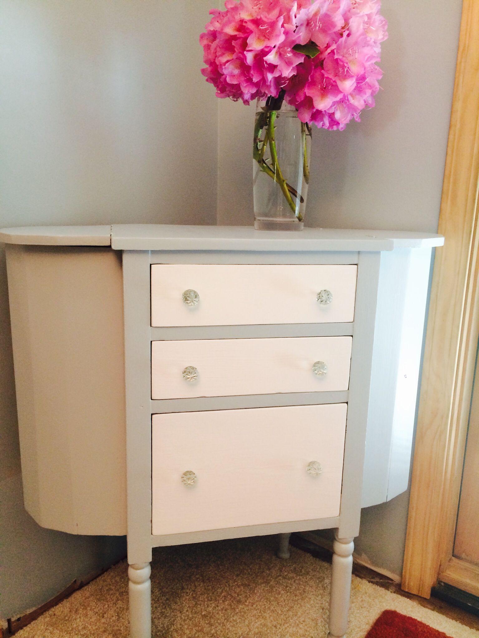 diy furniture refinishing projects. Washington Sewing Table, Refinished. Diy Furniture Refinishing Projects