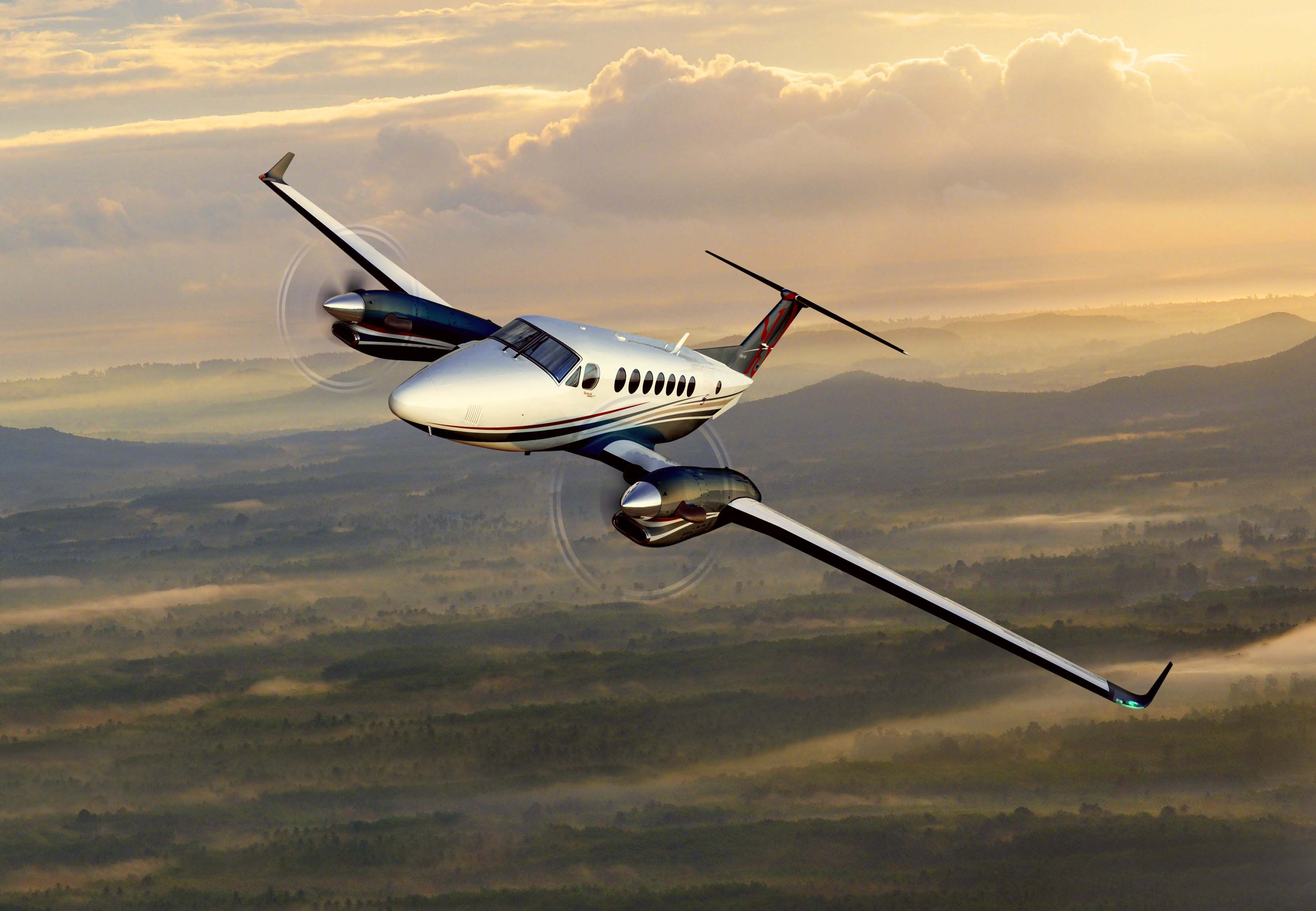 BeechcraftKingAir350iER Airplanes Pinterest
