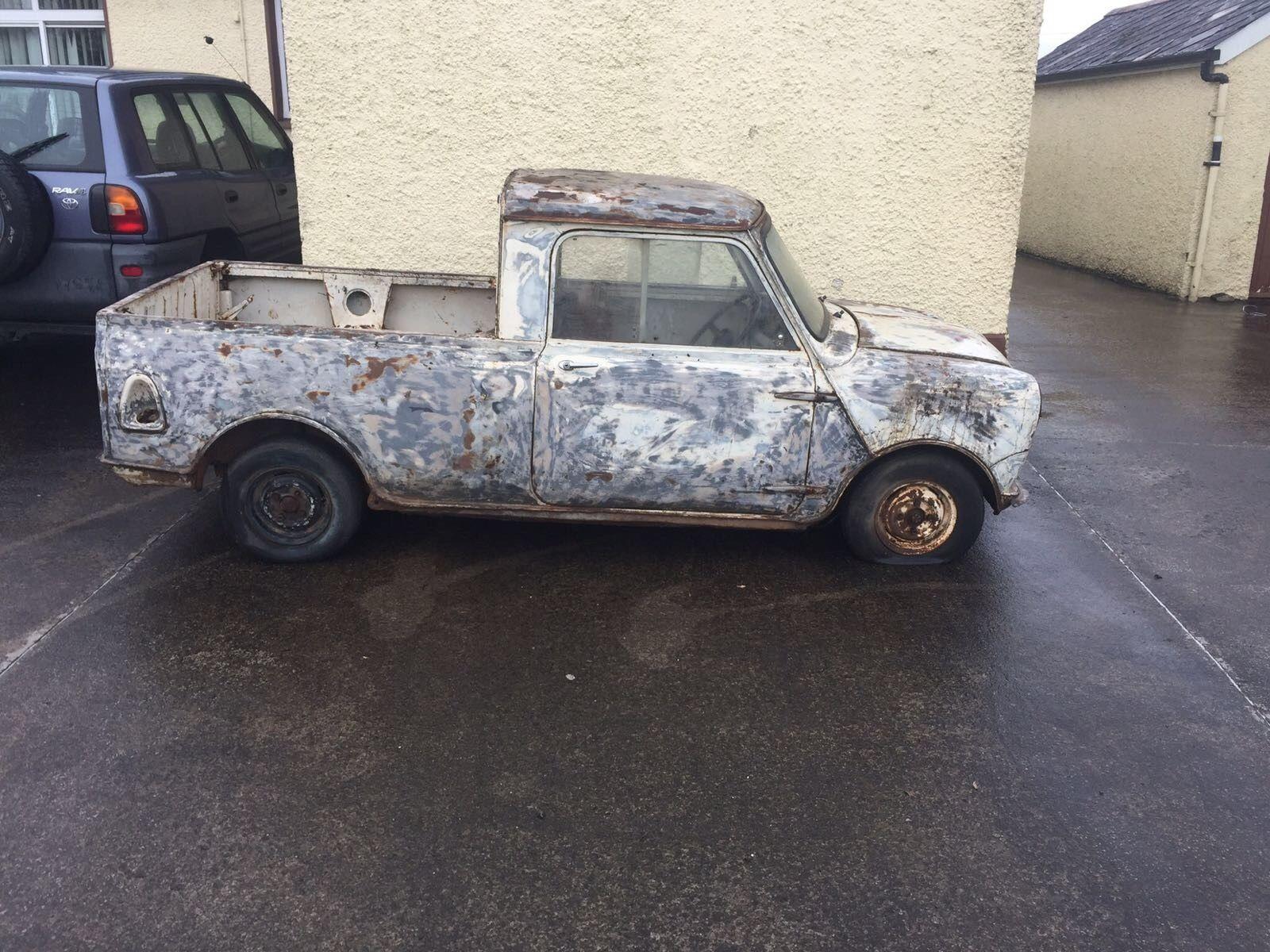 eBay: Mk1 Morris Mini Pickup project (1963) #classicmini