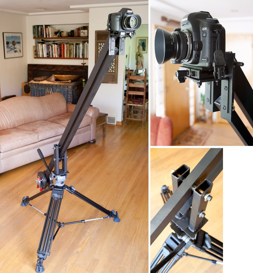 DIY crane! | Photography equipment, Photography, Video ...