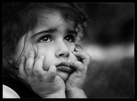 Черно-белые фото, детские эмоции. | Черно-белое фото ...